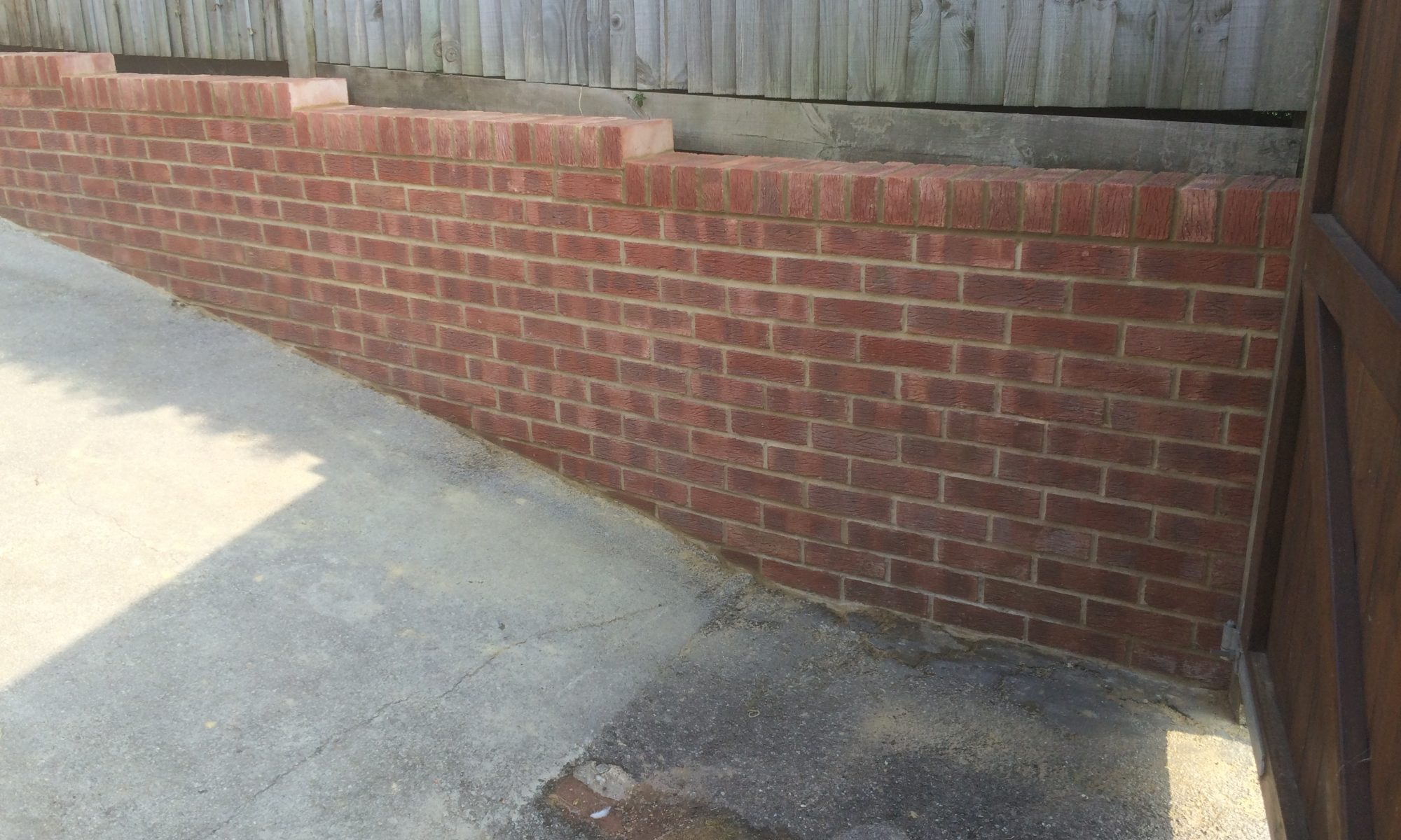 Landscaping - Retaining Wall - Brick