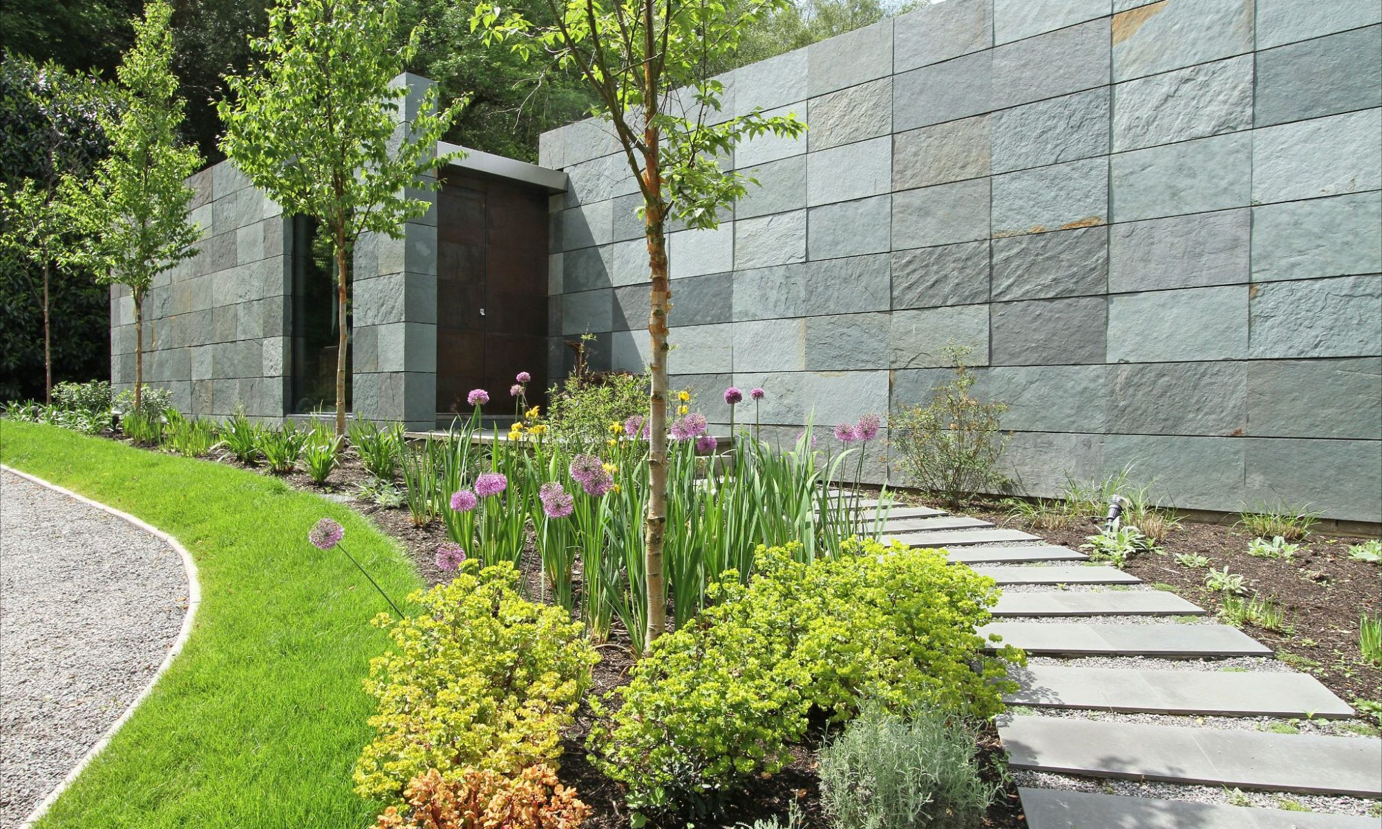Garden Landscaping - Border Planting